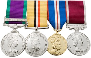 Military Medal Mounting Swing Style