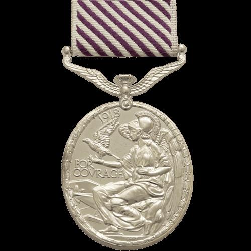 Distinguished Flying Medal DFM GVI Reverse