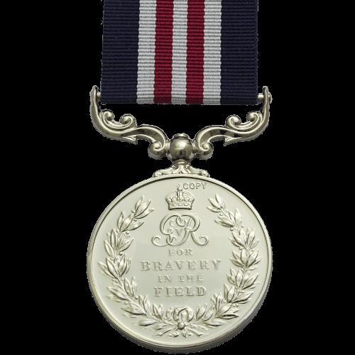 Military Medal MM GV Reverse