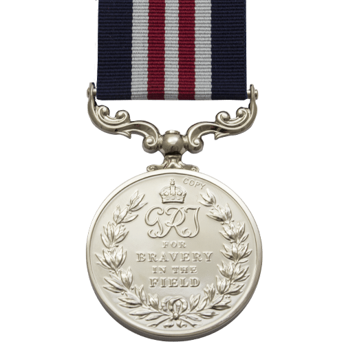 Military Medal MM GVI Reverse