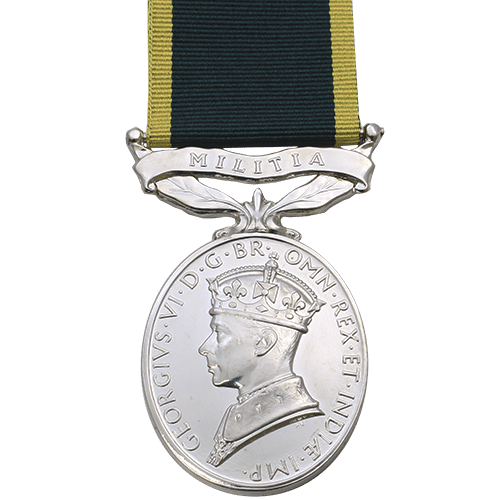 Efficiency Medal Militia GVI
