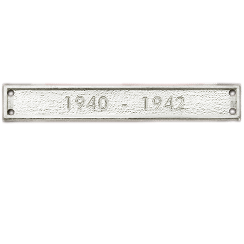 Silver Sew On Bar EXAMPLE