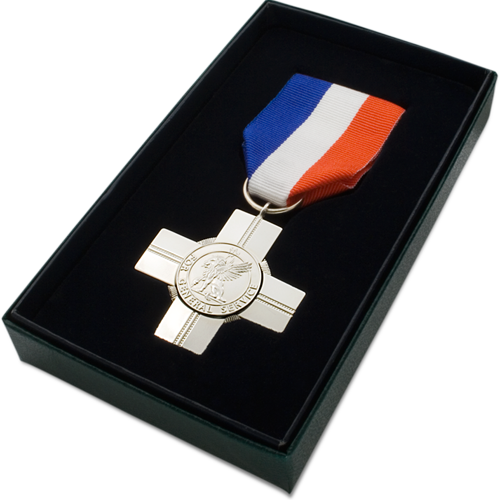 General Service Cross Medal COmmemorative Boxed