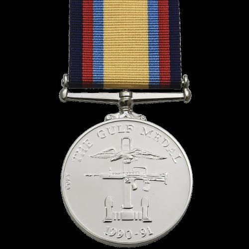 Gulf Medal Reverse