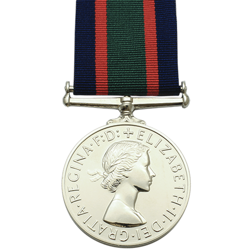 RNVR Long Service And Good Conduct LSGC Medal EIIR