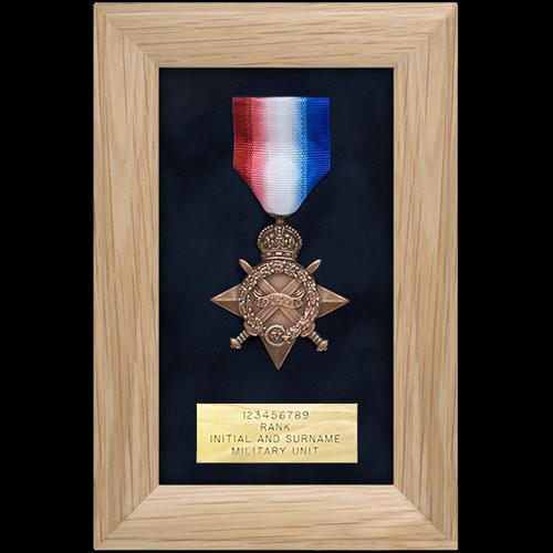 Medal Display Frame Single Medal • Medal Makers - Commemorative and ...