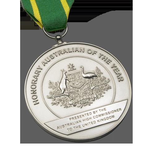 Australia Day Foundation Award Medal • Medal Makers