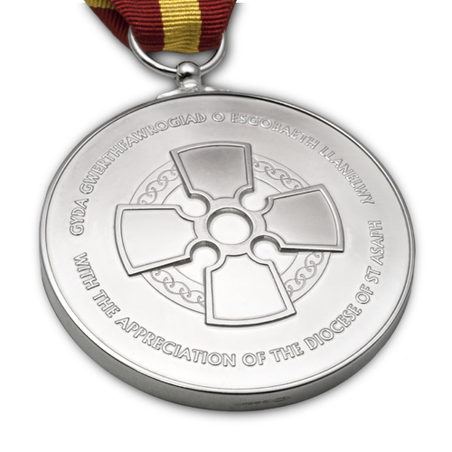 The Diocese of St Asaph Medal Reverse