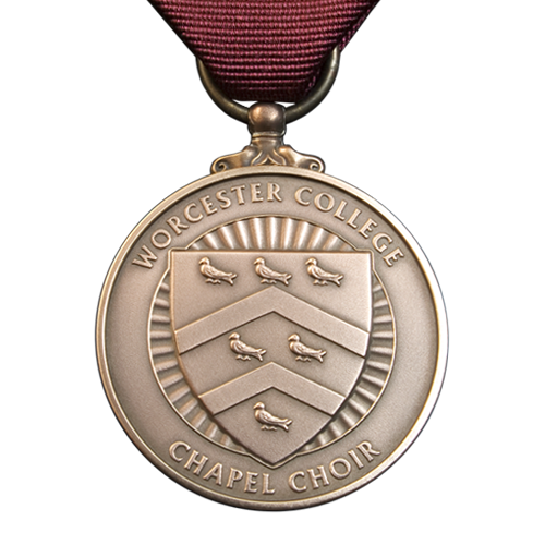 Worcester College Oxford Chapel Choir Medal Front