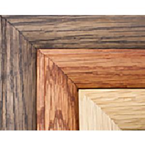 Medal Frame Wood Colour Selection