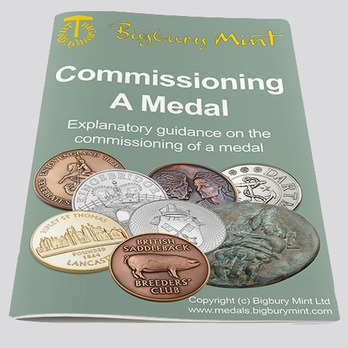 Commission a Medal at Bigbury Mint - Medal Making specialists