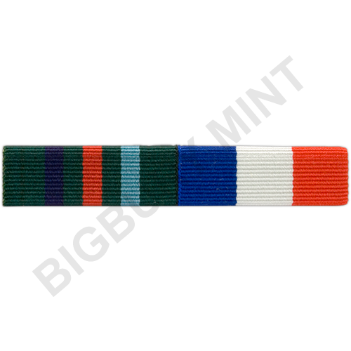 Ribbon Tie Bar : Medal ribbon bar